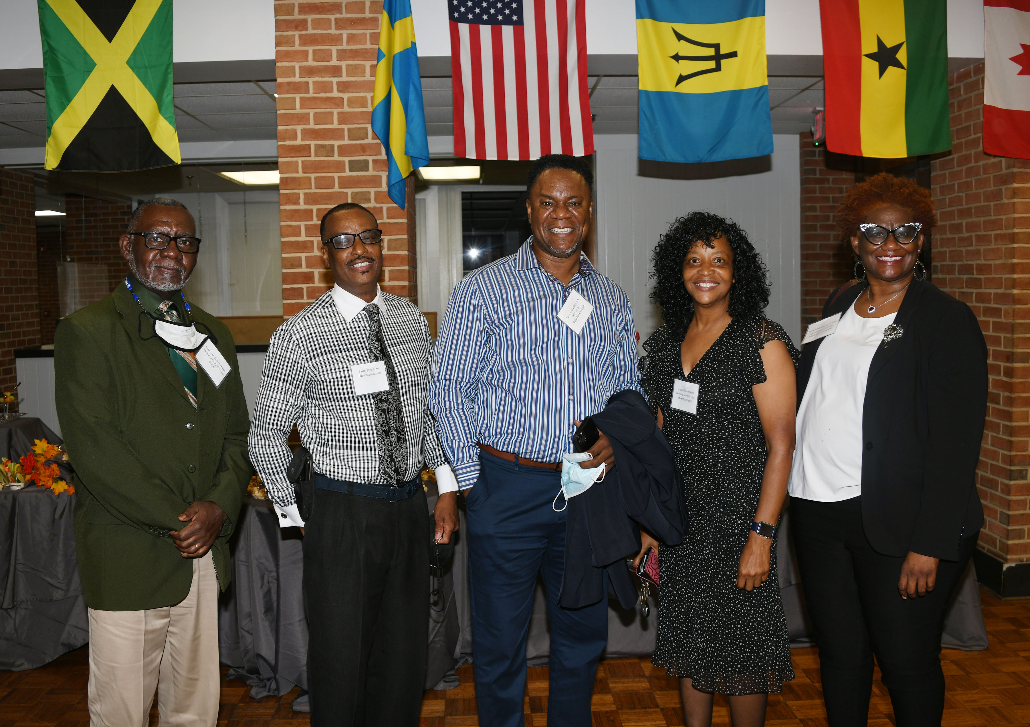 Del State President meets with Faith-Based Community