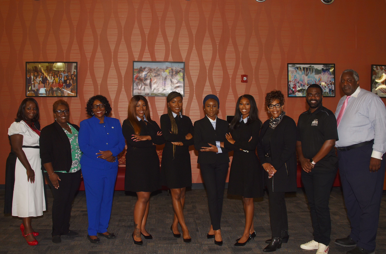 The Coach Foundation donates professional attire to Del State