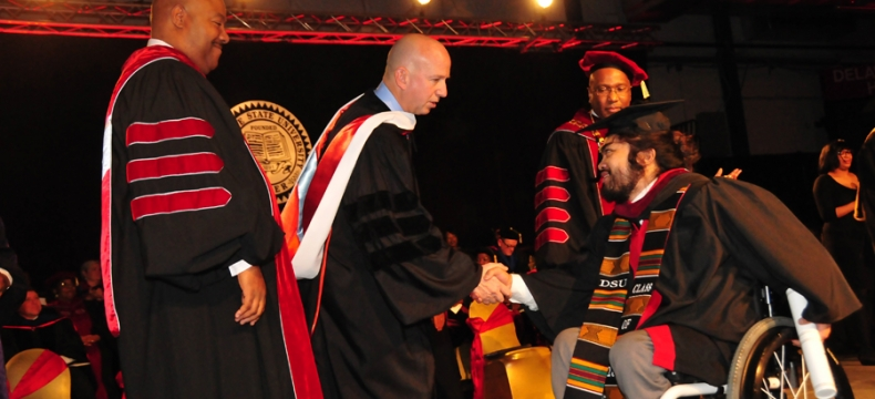 2016 Dec. Commencement -- Article and Photo Slideshow