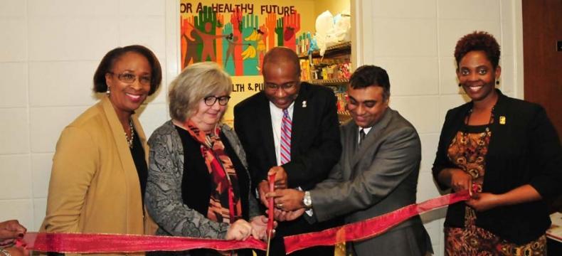DSU, Food Pantry, Food Bank of Del., Harry K Foundation
