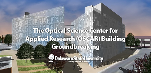 DSU Breaks Ground for New Optics Research Building