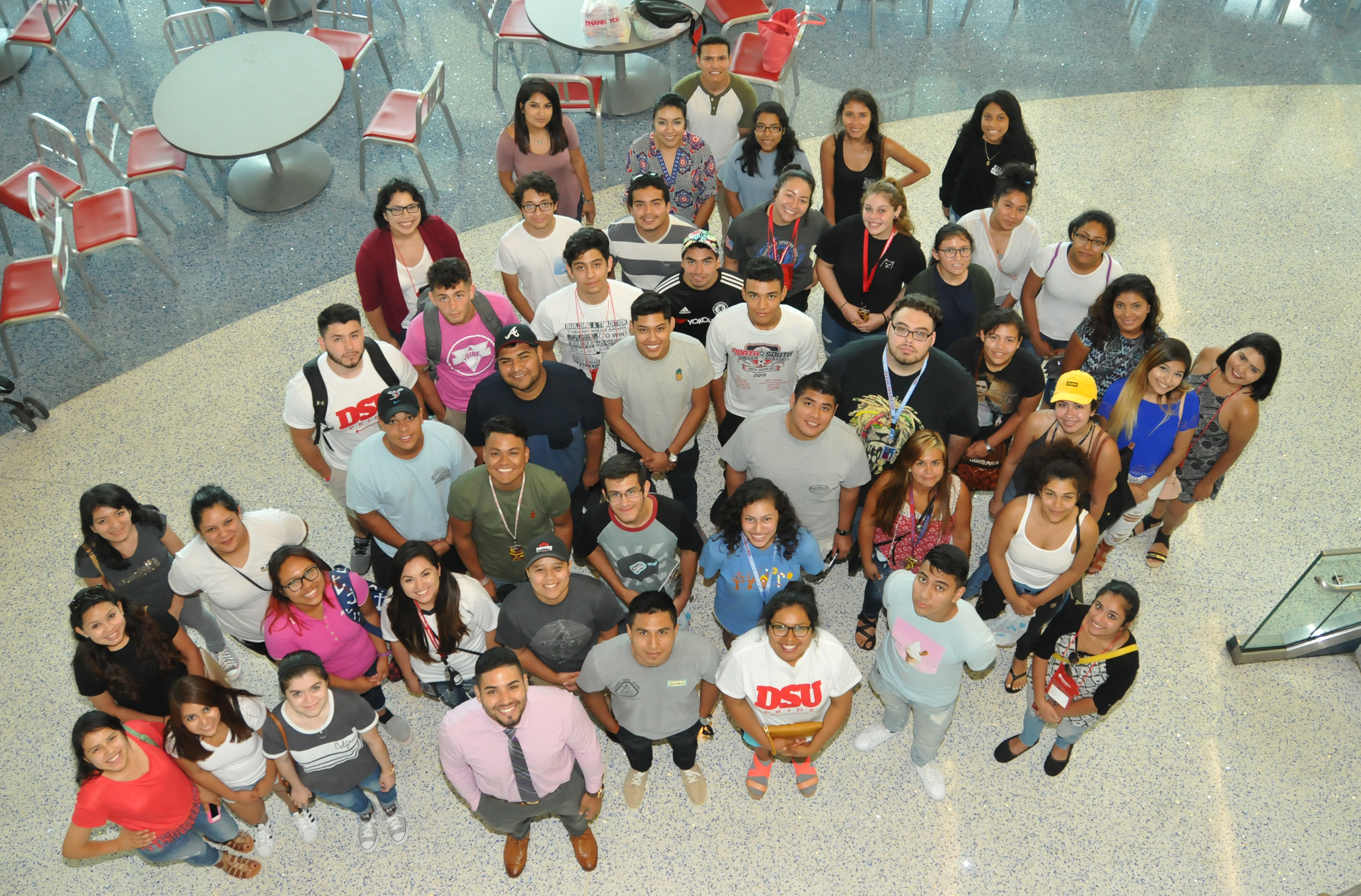 """A new group of """"Dreamers"""" -- undocumented immigrant students who have enrolled at DSU under the Opportunity Scholarship Program -- have begun their academic journey at Del State."""