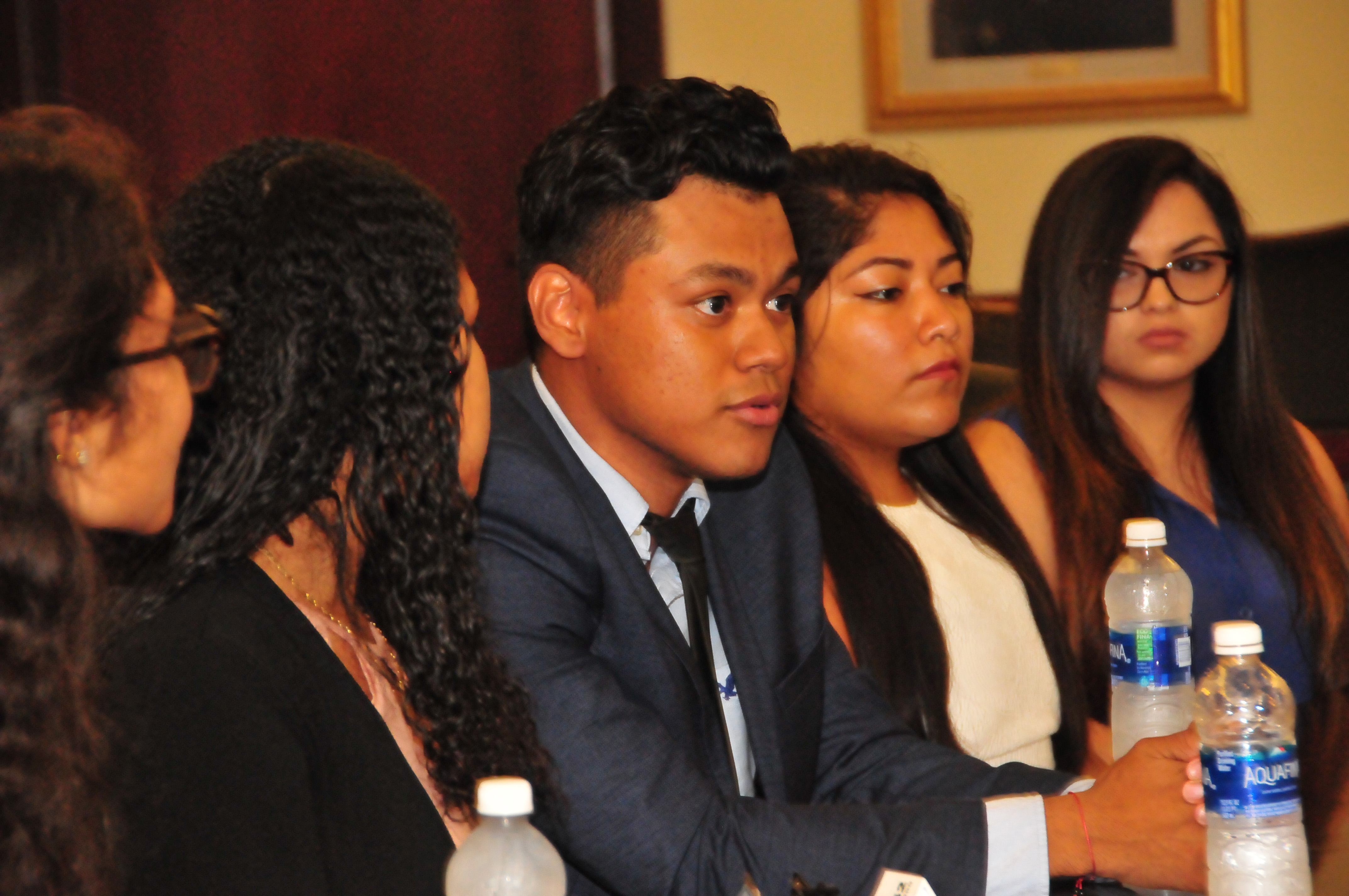Kevin Gutierrez, a sophomore Dreamer from El Salvador, shares his feelings about being a Dreamer. He is quoted at the beginning of the below statement from Provost Tony Allen.